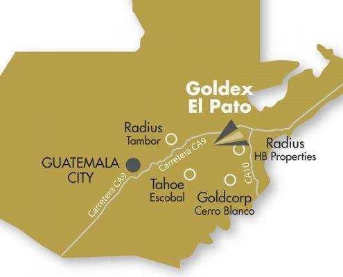 El Pato Access Map
