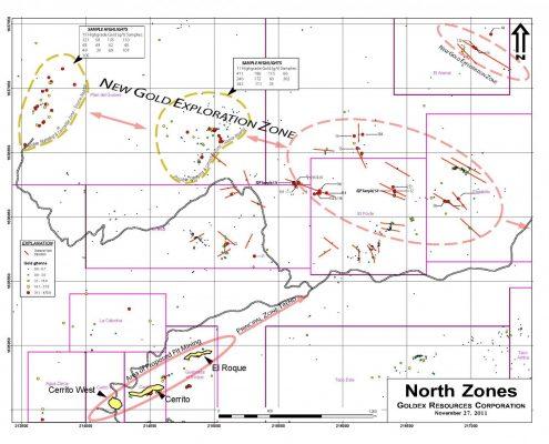 El Pato Northern Zones
